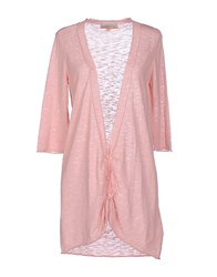 Just For You Knitwear Cardigans Women Pink