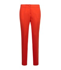 Claudie Pierlot Pablito Woven Trousers Female Coral