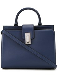 Marc Jacobs Small 'West End' Top Handle Tote Bag Blue