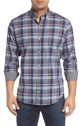 Tailorbyrd Men's Big And Tall 'Hennessey' Regular Fit Plaid Sport Shirt