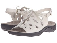 David Tate Dallas Dallas Bone Women's Sandals White