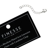 Finesse Extension Chain Silver