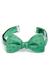 Gitman Brothers Vintage Men's Gitman Paisley Silk Bow Tie Green