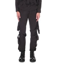 Boy By Boy Bondage Shell Trousers Black