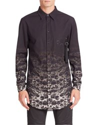 Marcelo Burlon Ushuaia Ombre Graphic Shirt Multi