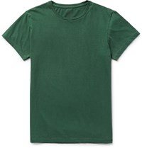 Rrl Cotton Jersey T Shirt Forest Green