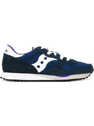 Saucony Panelled Sneakers Blue