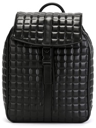 Emporio Armani Quilted Backpack Black