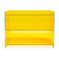 Glas Italia Yellow Medium Bookcase