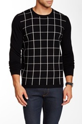 Autumn Cashmere Cashmere Grid Intarsia Sweater Multi