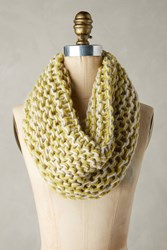 Anthropologie City Knit Cowl Green