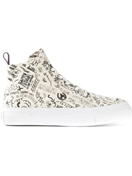 Eytys 'Odyssey Canvas' Hi Top Trainers