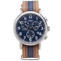 Timex Archive Weekender Chrono Watch Brown