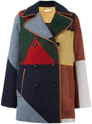 Tory Burch 'Cheval' Coat