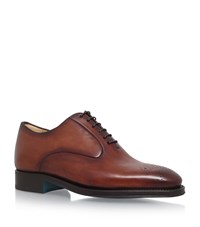 Sutor Mantellassi Uto Punch Oxford Shoes Male Brown