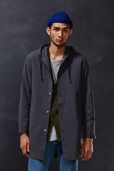 Cpo Hooded Long Parka Jacket Grey