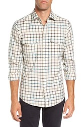 Rodd And Gunn Men's 'Harker' Sports Fit Check Jacquard Sport Shirt