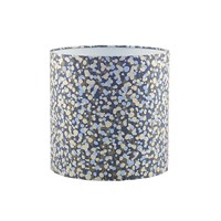 Clarissa Hulse Garland Lampshade 21Cm Midnight Storm Pewter
