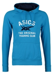 Asics Graphic Hoodie Atlantic Blue Dark Blue