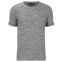 Hugo Men's Dastings Crew Neck T Shirt Grey