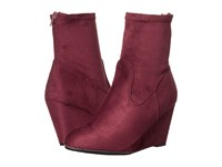 Chinese Laundry Upscale Merlot Suedette Women's Boots Pink
