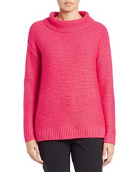 424 Fifth Funnelneck Sweater Party Pink