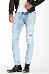 Antony Morato Bleached Out Distressed Jean Blue