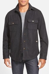 Wallin And Bros 'Cpo' Shirt Jacket Black