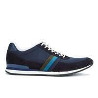 Paul Smith Shoes Men's Swanson Running Trainers Galaxy Mesh Silky Suede