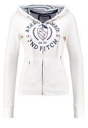 Abercrombie And Fitch Core Tracksuit Top White