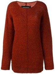 By Malene Birger 'Filja' Jumper Red