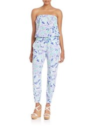 Lilly Pulitzer Emiko Strapless Jumpsuit Lillys Lilac