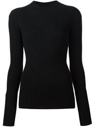 Maiyet Mock Neck Sweater Black