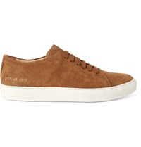 Common Projects Court Suede Sneakers Tan