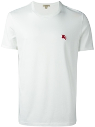Burberry Brit Embroidered Chest Logo T Shirt White