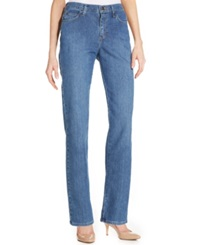 Lee Platinum Relaxed Fit Straight Leg Jeans Clear Blue Wash
