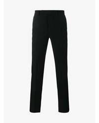 Raf Simons Wool Trousers Black White