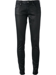 Burberry Brit Waxed Jeans Black
