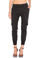 James Jeans Boyfriend Cargo Pant Black