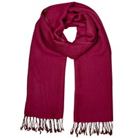East Wool Reversible Scarf Magenta