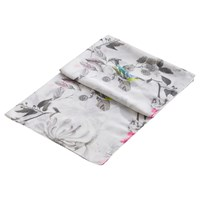 Joules Wensley Birdberry Scarf Silver