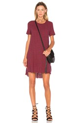 Current Elliott The Fray Edge Shift Dress Red