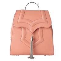 Okhtein Peach Mini Palmette Backpack Pink Purple Nude