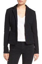 James Perse Women's Crop French Terry Blazer