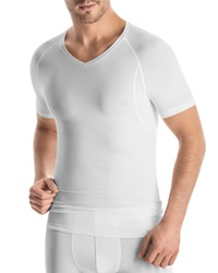 Hanro Urban Touch V Neck Tee White