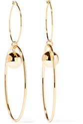 Stella Mccartney Gold Plated Earrings