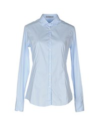 Aglini Shirts Shirts Women Sky Blue