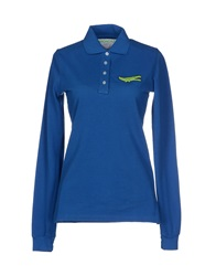 Bronzaji Polo Shirts Blue