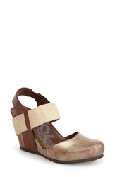 Women's Otbt 'Rexburg' Wedge Sandal Gold