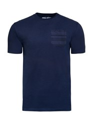 Raging Bull Men's Woven Pocket Tee Navy